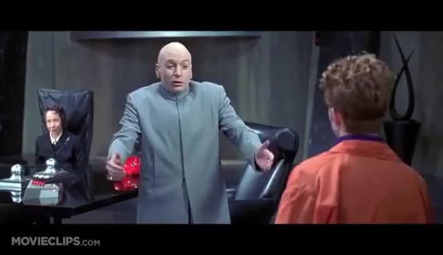 Watch and share Dr Evil Dance GIFs on Gfycat
