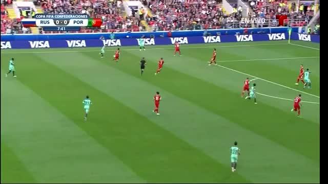 Watch and share Russia Vs Portugal - Telemundo - Ronaldo GIFs on Gfycat