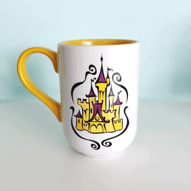 Watch and share Beauty And The Beast Mug GIF GIFs on Gfycat