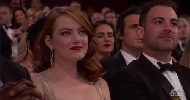 Watch this oscars GIF by GIF Reactions (@visualecho) on Gfycat. Discover more crowd, emma stone, emmastone, oscars, oscars2017, speechless GIFs on Gfycat