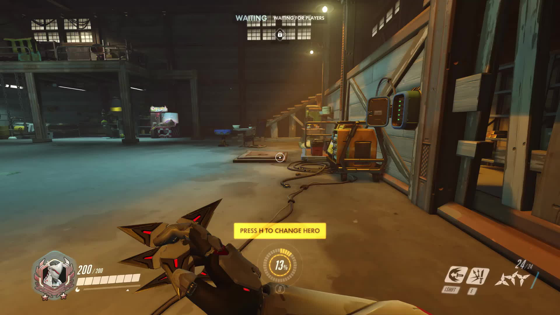 junkertown, overwatch, secret room, Enter Secret Room solo GIFs