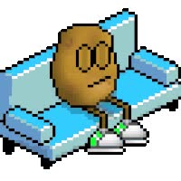 Watch and share Smilie Smiley Couch Potato Photo: Couch Potato Couchpotatosmiley.gif animated stickers on Gfycat