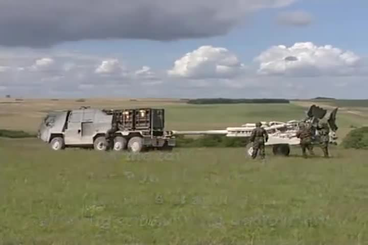 Military, BAE Systems - M777 155mm Lightweight Field Howitzer Portee System [480p] GIFs