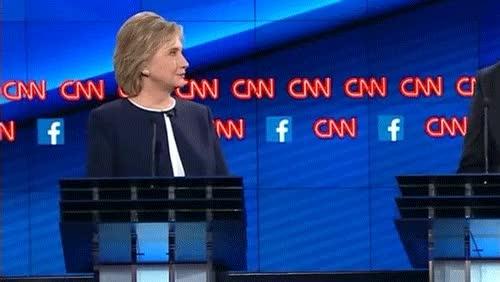 Watch and share Hillary No GIFs on Gfycat