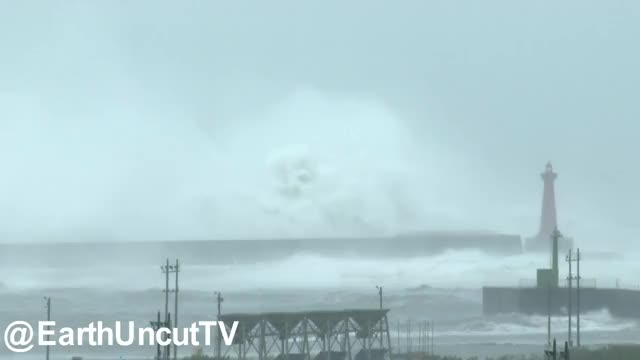 Watch and share Storm Surge GIFs and Huge Waves GIFs by dickcamelot on Gfycat