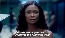 Watch and share Thandie Newton GIFs and Westworld GIFs on Gfycat