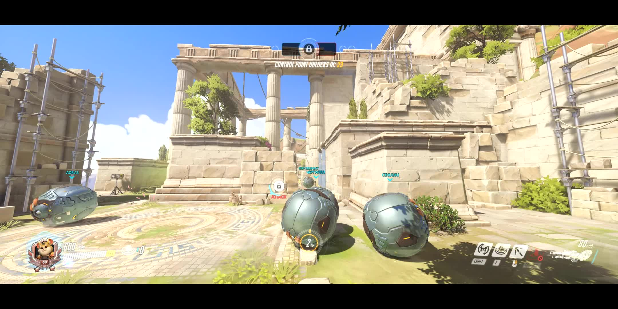 MileyCyrus, OW, Overwatch, WreckingBall, What game is this? GIFs