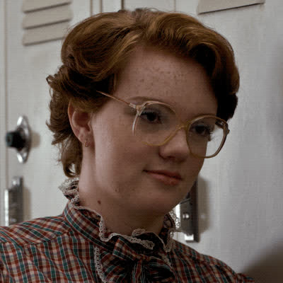barb, cool, cool story bro, eye brow raise, good for you, impressive, neat, nice, stranger things, BARB GIFs