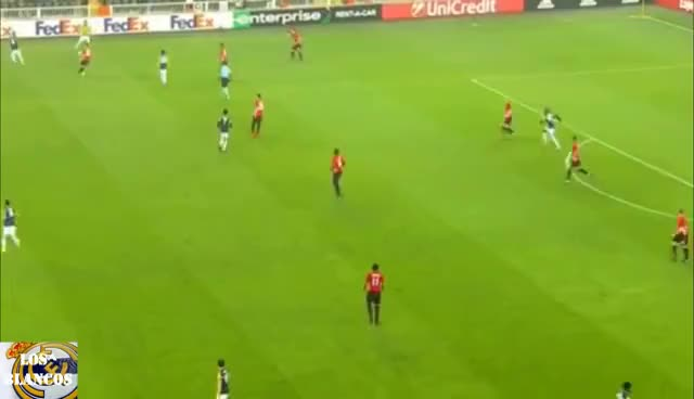 Watch and share Moussa Sow Incredible Bicycle Kick Goal Fenerbahce Vs Manchester United Home HD 2016.11.03 GIFs on Gfycat
