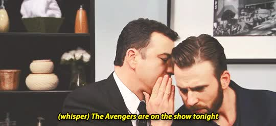 Watch and share Jimmy Kimmel GIFs and Chris Evans GIFs on Gfycat