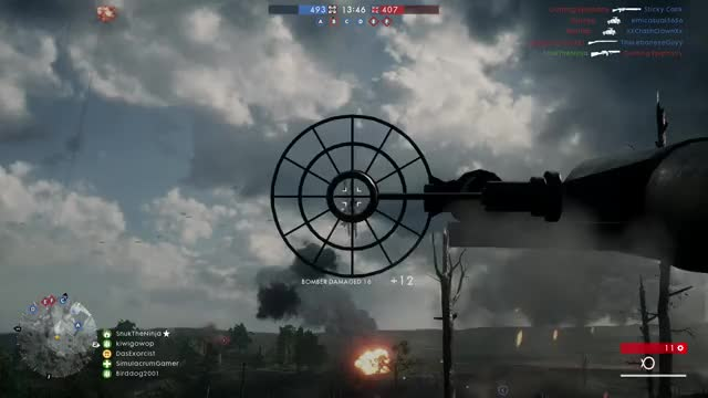 Watch and share Battlefield 1: Revenge Of The Fallen...bomber... GIFs by Wesley on Gfycat
