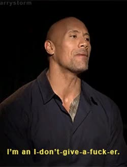 Watch and share Dwayne Johnson GIFs and Dontcare GIFs by Reactions on Gfycat