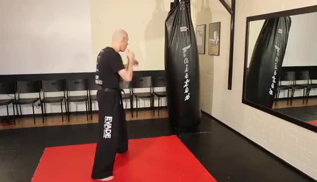 Kickboxing 4 Kick Sequence Tutorial GIFs
