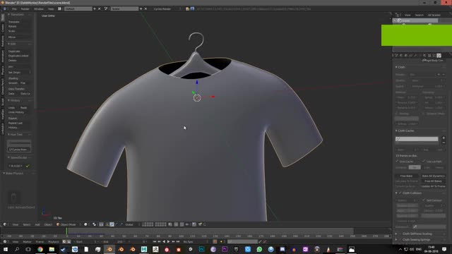 Watch Blender Cloth Sim GIF by Arun Bharathi (@arunbharathi) on Gfycat. Discover more autodeskmaya GIFs on Gfycat