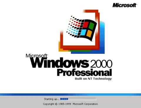Watch Windows 2000 Boot Screen GIF on Gfycat. Discover more related GIFs on Gfycat