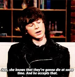 Watch and share Chandler Riggs GIFs and Sophia GIFs on Gfycat