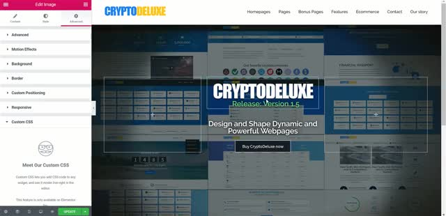 Watch and share CryptoDeluxe Page Builder 1 GIFs on Gfycat