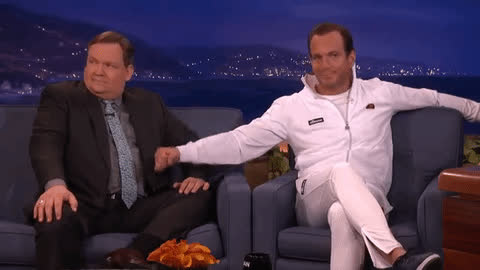 andy richter, will arnett, Will Arnett doesn't want to become a GIF | GIF GIFs