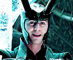 Watch my gifs mine tom hiddleston Thor loki THIS MOVIE IS SO FUCKING HARD TO COLOUR anyways here have a smiling loki in thor GIF on Gfycat. Discover more related GIFs on Gfycat