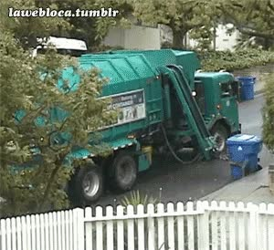 Watch and share Entertainment Garbage Truck Gif GIFs on Gfycat