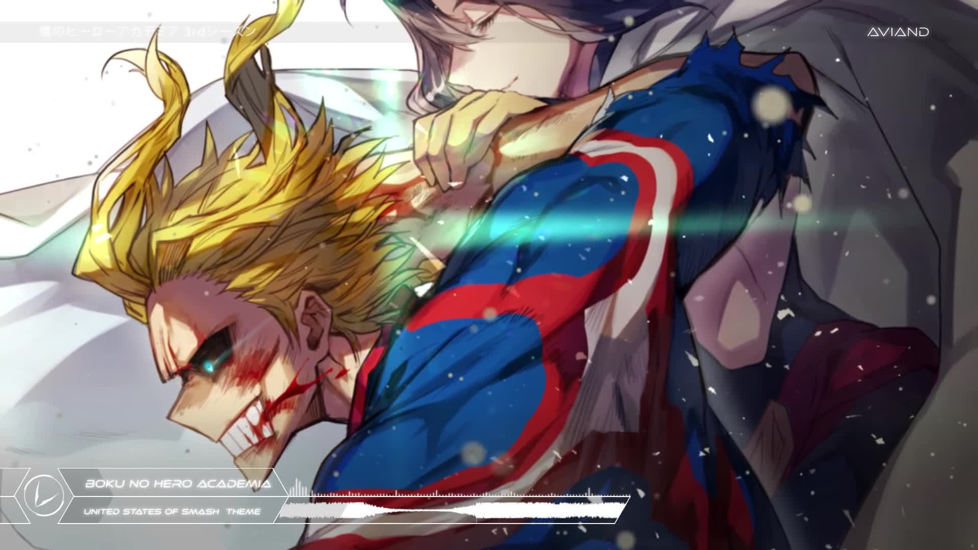 United States Of Smash Boku No Hero Academia Orchestration Epic And Sad Gif
