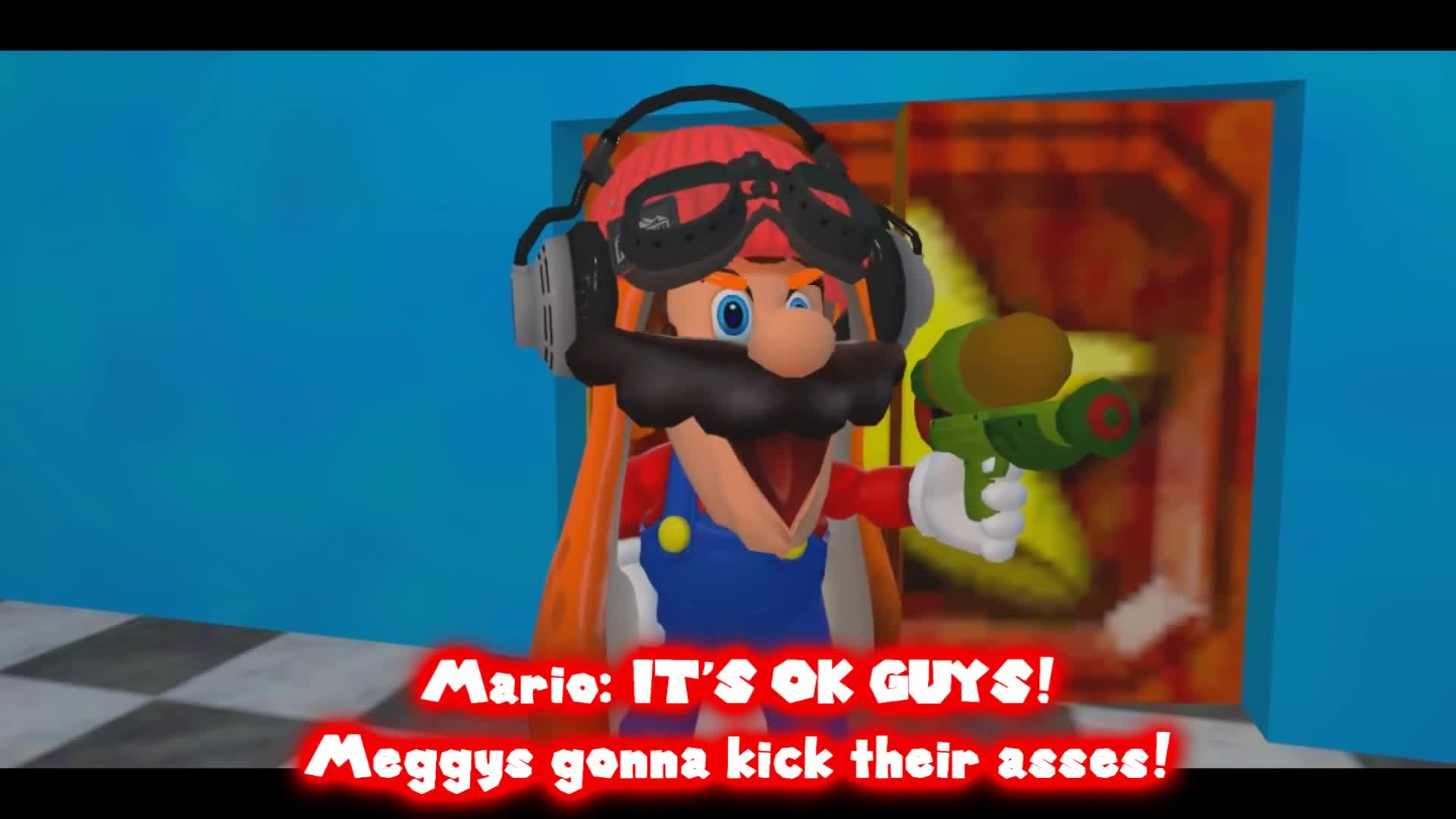 Bros, Hobo, Mario, Nintendo, SM64, SMG4, Super, Super Mario, Super Mario 64, Supermarioglitchy4, did GIFs