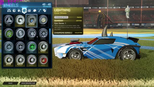 Watch and share Painted Wheels GIFs and Rocket League GIFs by oscar-20 on Gfycat