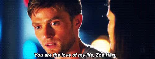 """Watch """"Life is full of uncertainties, Zoe. But if you have one thi GIF on Gfycat. Discover more 4x03 The Very Good Bagel, Hart of Dixie, HoD GIFs, HoD Season 4 GIFs, HoD Spoilers, HoDEdit, Mine, My GIFs, Wade Kinsella, Zade, ZadeEdit, Zoe Hart GIFs on Gfycat"""
