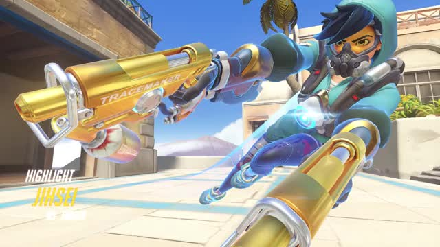 Watch Highlight Tracer GIF by Jihsei (@jihsei) on Gfycat. Discover more Overwatch, highlight, tracer GIFs on Gfycat