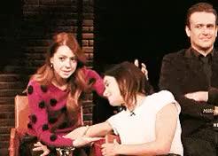 funny Jason Sege HIMYM cast kiss