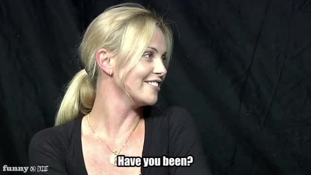 Watch You been? GIF by Funny Or Die (@funnyordie) on Gfycat. Discover more Between Two Ferns with Zach Galigianakis, Charlize Theron, FoD, funny or die, funnyordie GIFs on Gfycat