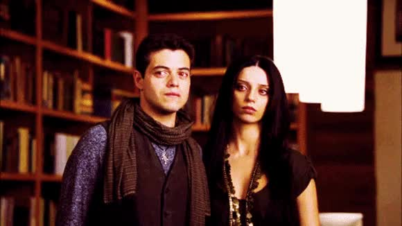 Watch this angela sarafyan GIF on Gfycat. Discover more angela sarafyan, rami malek GIFs on Gfycat