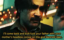 Watch True Detective GIF on Gfycat. Discover more 2x01, colin farrell, ray velcoro, the western book of the dead, true detective, truedetectiveedit GIFs on Gfycat