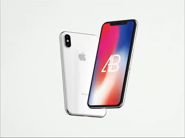 Watch and share Animated Iphone X Mockup By Anthony Boyd Graphics GIFs on Gfycat