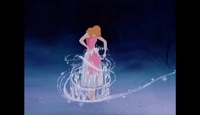 Watch Cinderella GIF on Gfycat. Discover more cinderella, dress GIFs on Gfycat