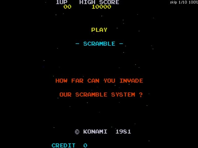 Watch Arcade - Scramble 1981 (HD) GIF on Gfycat. Discover more related GIFs on Gfycat