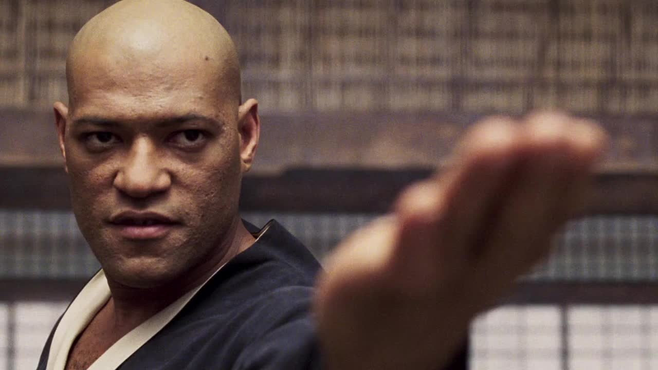 celebs, laurence fishburne, The Matrix - Come on gesture GIFs