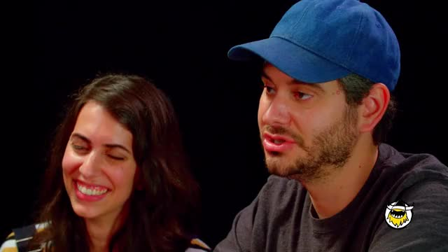 Watch H3H3 Productions Does Couples Therapy While Eating Spicy Wings | Hot Ones GIF on Gfycat. Discover more first we feast, fwf, h3h3_productions GIFs on Gfycat