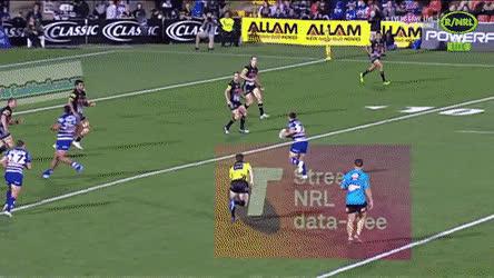 Aussie NRL big hit GIFs