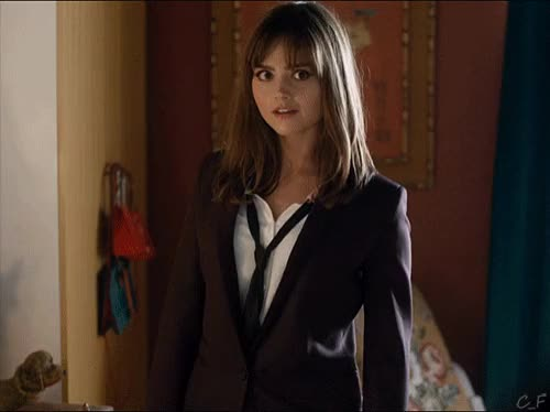 Watch and share Jenna Coleman GIFs on Gfycat