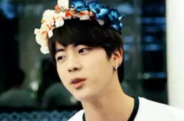 Watch Kim Seokjin~ GIF on Gfycat. Discover more bangtan, gif:jin, jin, kim seokjin, my handsome love~, mygifs, seokjin GIFs on Gfycat