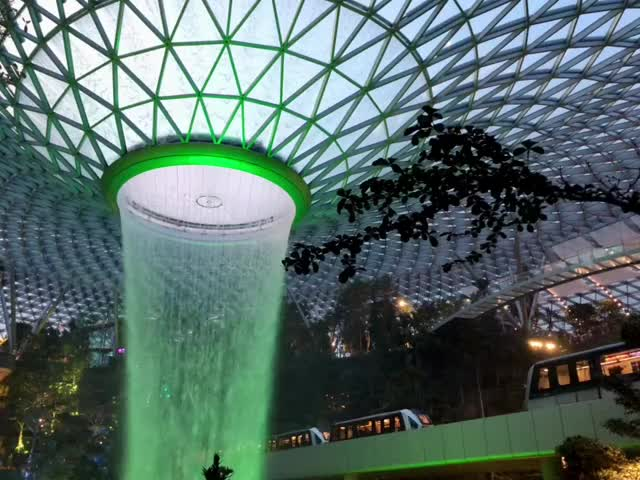 Watch and share Changi Airport GIFs and Indoor Garden GIFs on Gfycat