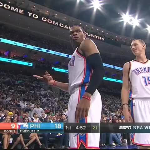 Watch this russell westbrook GIF on Gfycat. Discover more nba, russell westbrook GIFs on Gfycat
