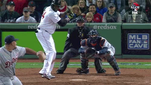 Watch and share ALCS Game 3: Is David Ortiz The New Mr. October? GIFs on Gfycat