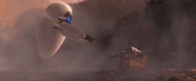Watch Wall-e | scene GIF on Gfycat. Discover more 2008, 2017, Eva, Eve, dinsey, escena, espa, movieclip, ol, pixar, scen, scene, wall-e, walle, walleee GIFs on Gfycat
