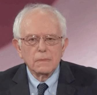 Watch and share Bernie Sanders GIFs and Notamused GIFs by Reactions on Gfycat