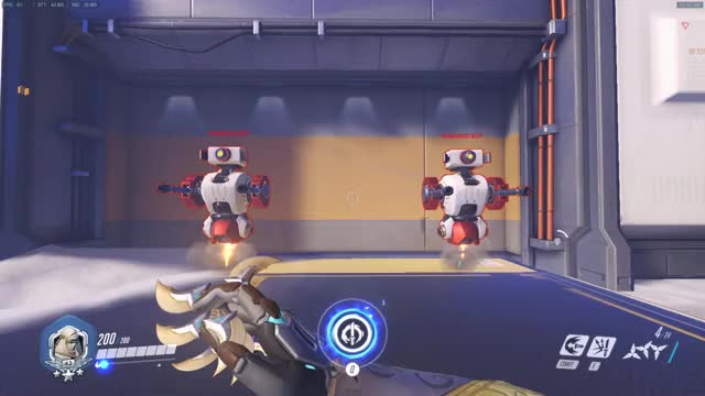 Watch and share Genji Ult Doesn't Reload (Also Deflecting Just Before The Sword Is Sheathed Immediately Cancels Deflect) GIFs by featherfallen on Gfycat
