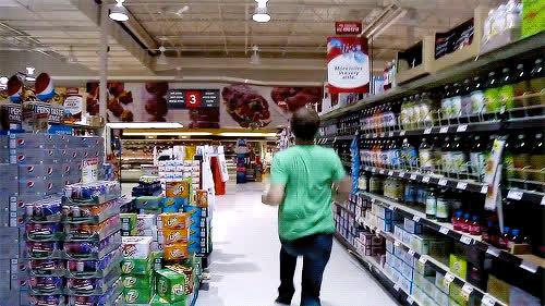 Corey Vidal, CoreyVidal, dance, groceries, grocery, jump, prance, win, Win GIFs