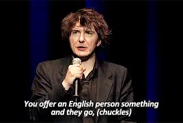 Watch never ever bloody anything ever GIF on Gfycat. Discover more *, *dm, colourfulmotion, dylan moran, p:dylan moran, stand up, standup, teflonly, what it is GIFs on Gfycat
