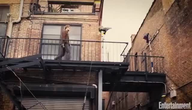 Watch The Defenders: First Look At Marvel Mashup | Cover Shoot | Entertainment Weekly GIF on Gfycat. Discover more related GIFs on Gfycat